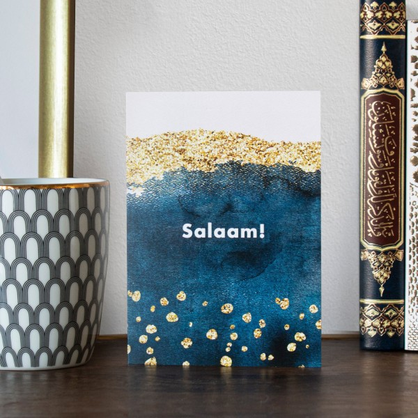 Ethereal Watercolour & Gold - Salaam!