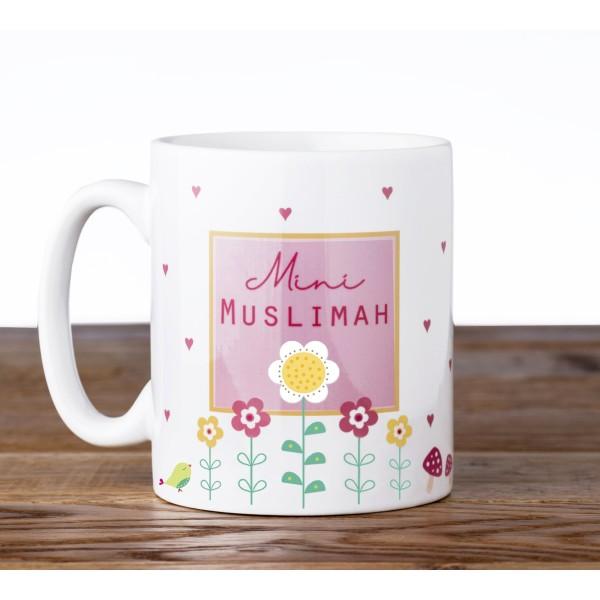 Mug C02 Mini Muslimah Mug - Flowers
