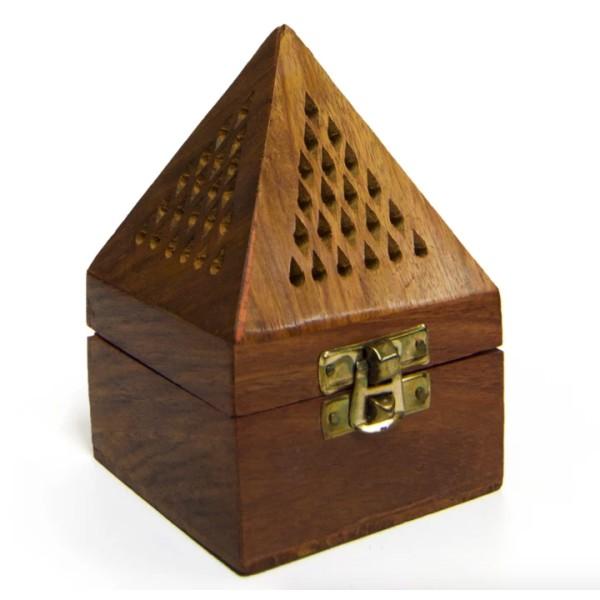 Mabkhara Wooden Bakhoor Burner (Small)