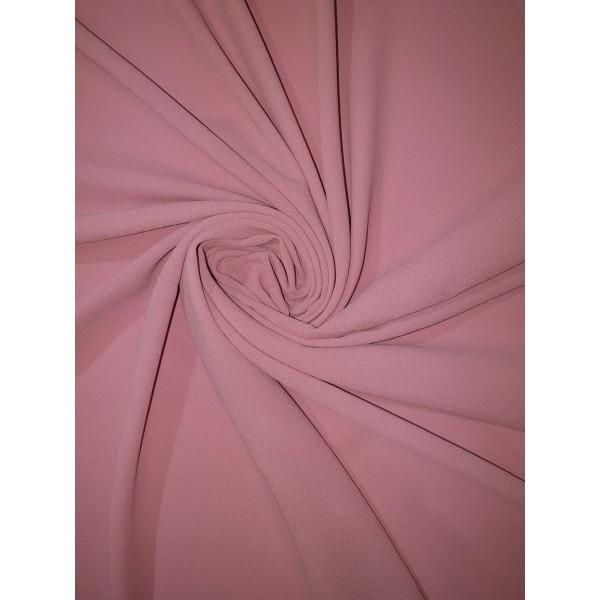 Plain Georgette Pink Scarf