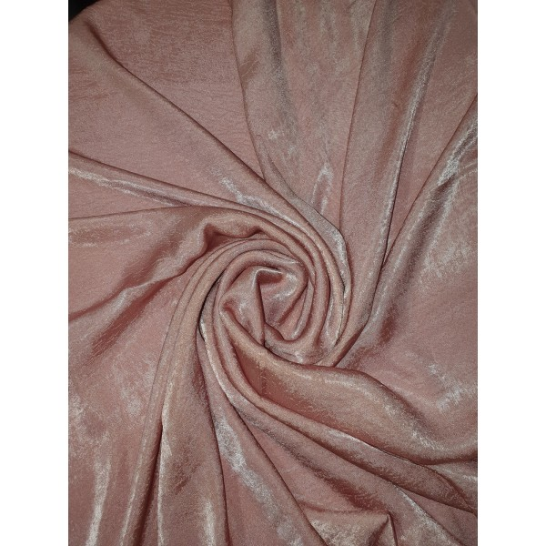 Plain Velvet scarf Dusty Pink