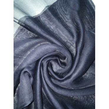 Silk Tassle scarf Navy