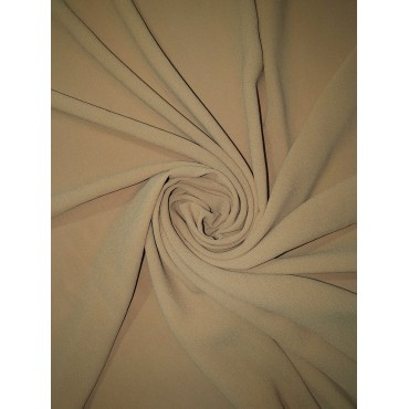 Georgette small Nude Scarf