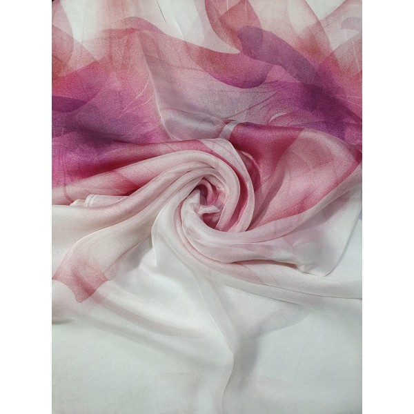 100% Silk Pattern Scarf