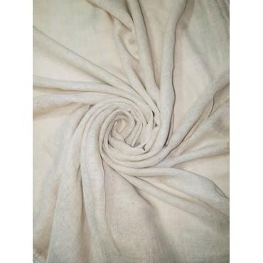 Cotton Vintage Lace scarf Beige
