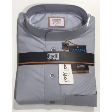 Premium Aseel Thoub - Grey