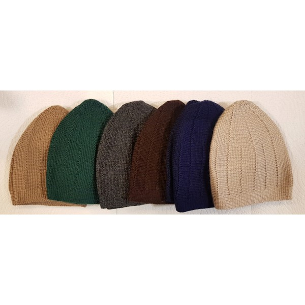 Mercan Plain Thick Hat - Colour