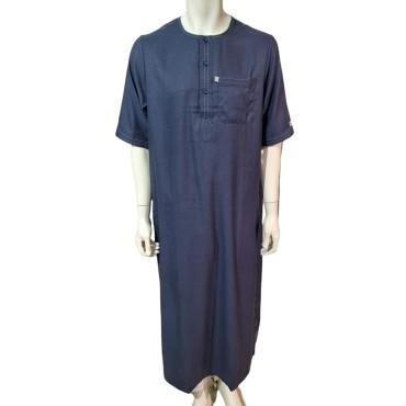 Ikaf - Stitched Style Short Sleeve (Navy)
