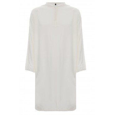 SS - Moroccan Hooded White Linen