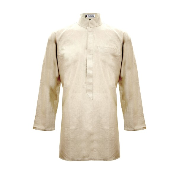 Arabian Cotton Shirt (Beige)