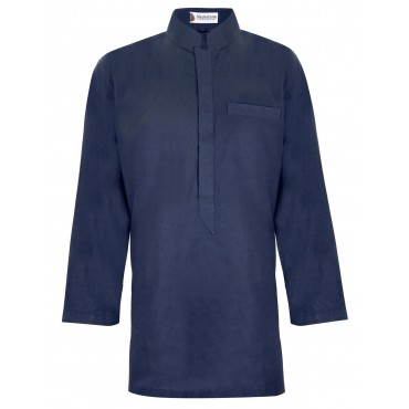 Arabian Cotton Shirt (Navy)