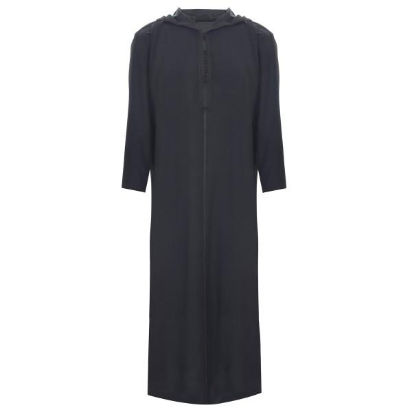 SL - Moroccan Hooded Black