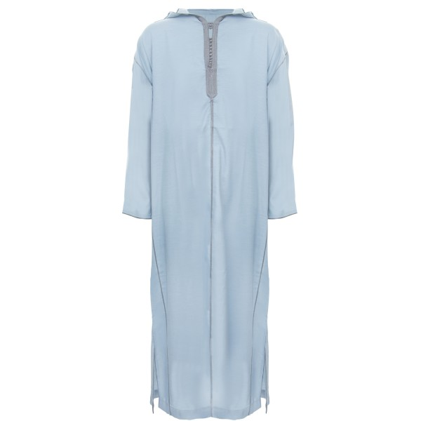 SL - Moroccan Hooded Light Blue