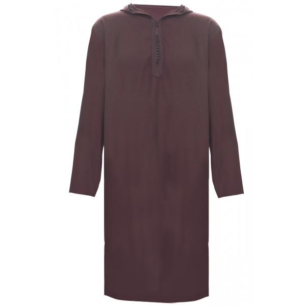 SS - Moroccan Hooded Maroon