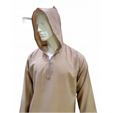 SS - Moroccan Hooded Beige