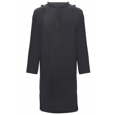 SS - Moroccan Hooded Black