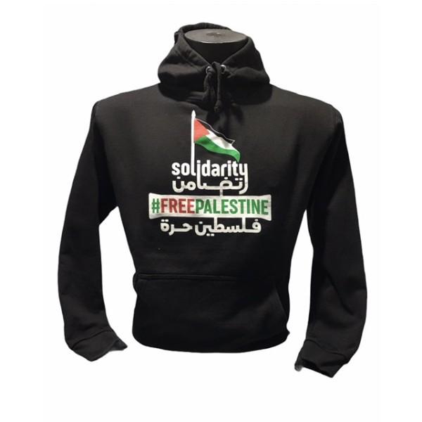Solidarity - Free Palestine Hoodie