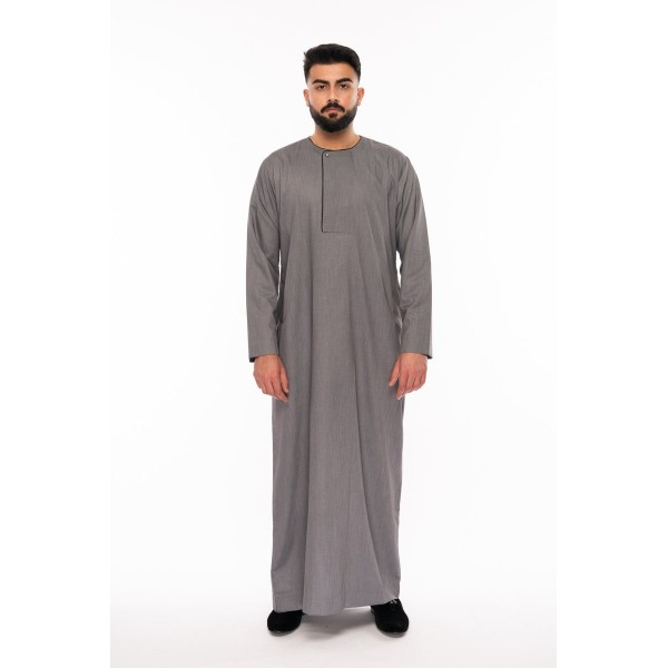 Al Noor - Piping Omani Grey