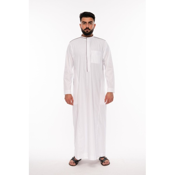 Al Noor - Lomar Inspired  Thoub White