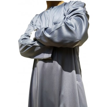 Alif Thoub Men - Grey