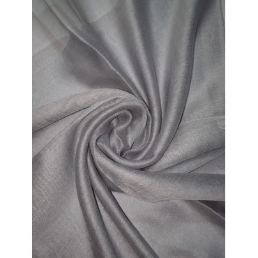 Silk Tassle scarf Grey