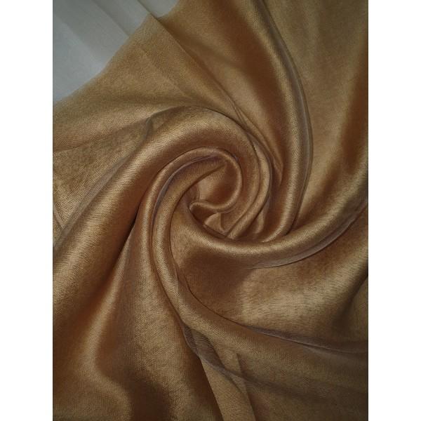 Silk Tassle scarf Gold
