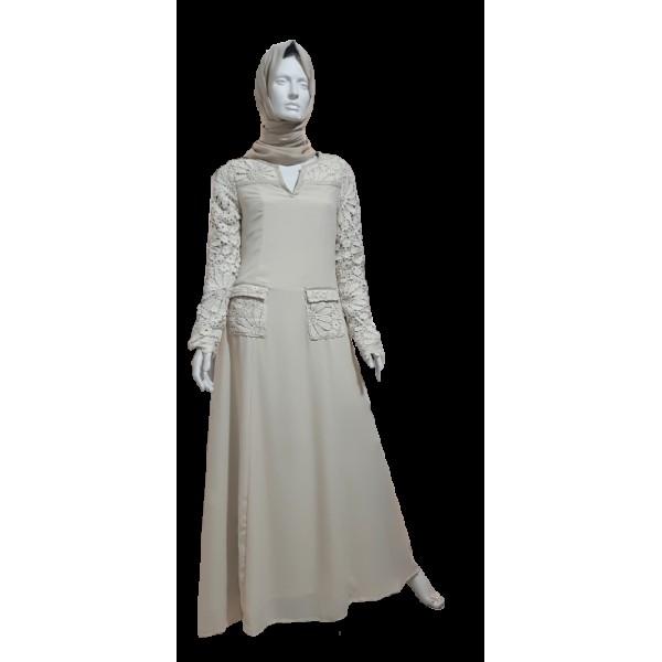 Maryam Cream - Jarab abaya (S4)