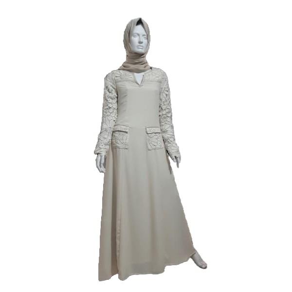 Maryam Cream - Jarab abaya (M8)