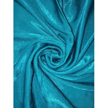 Plain Velvet scarf Teal Green