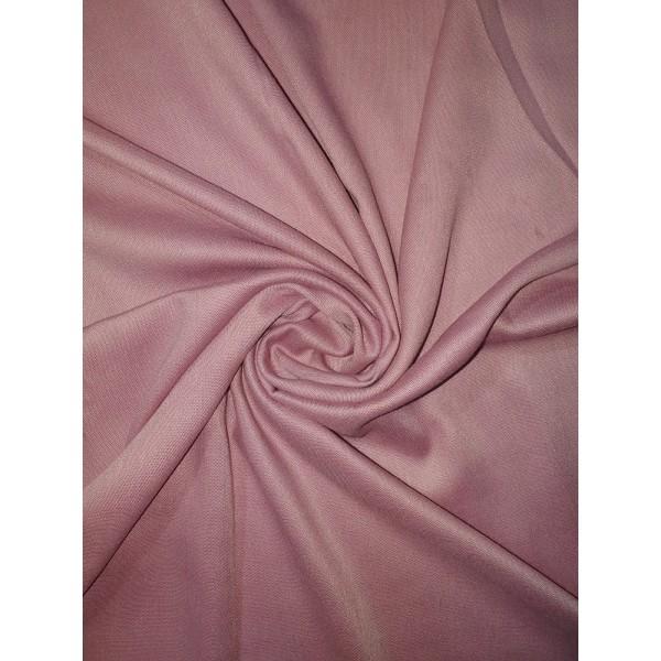 Plain Pashmina Dusty Pink Scarf