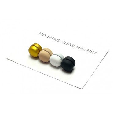Hijab Magnets Clips - Round