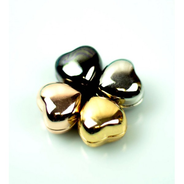 Hijab Magnets Clips - Metallic Heart