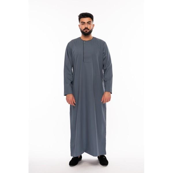 Al Noor - Piping Omani Dark Aqua Toddler
