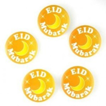 Eid Mubarak Badges (Gold)