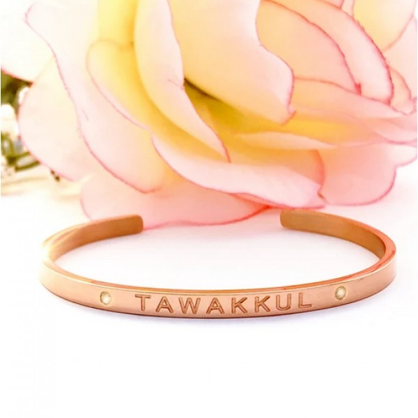 Cuff Bangle (Rose Gold) Tawakkul - Reliance
