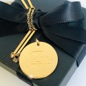 S.G Bar Necklace 18K Gold (Tawakkul)