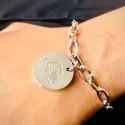 S.G Charm Bracelet 18K White Gold (Tawakkul)