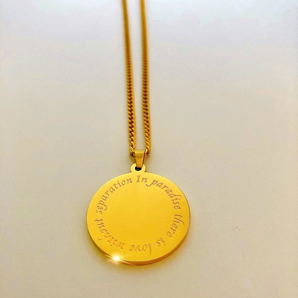 S.G Necklace Gold (Paradise)