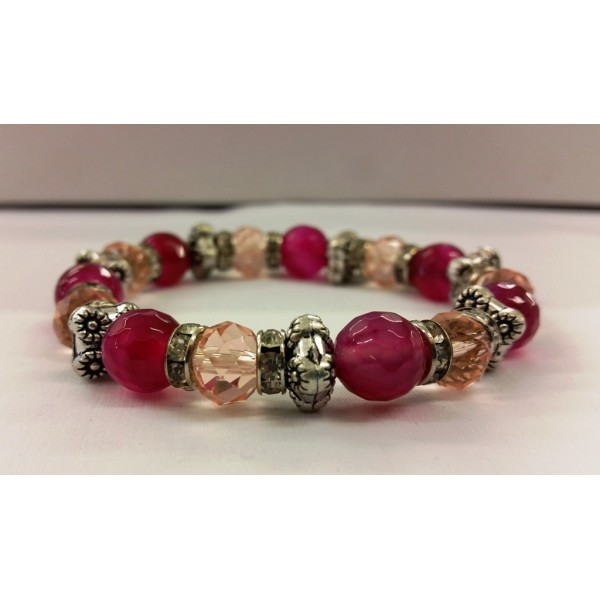 AKJMER2 Bracelet Pink Orchid Single
