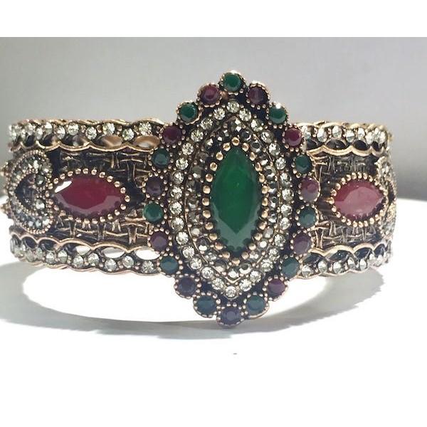 AKJWF7 Chunky Rose Gold Bracelet