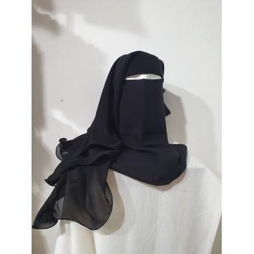 Niqab - 4 Layer