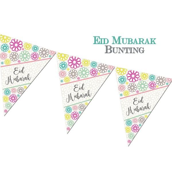 Eid Mubarak Bunting - Geo