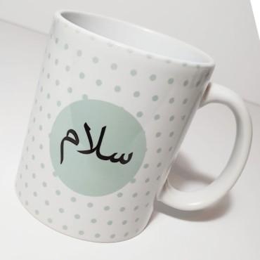 Mug PS03 - Salaam Polka Dots