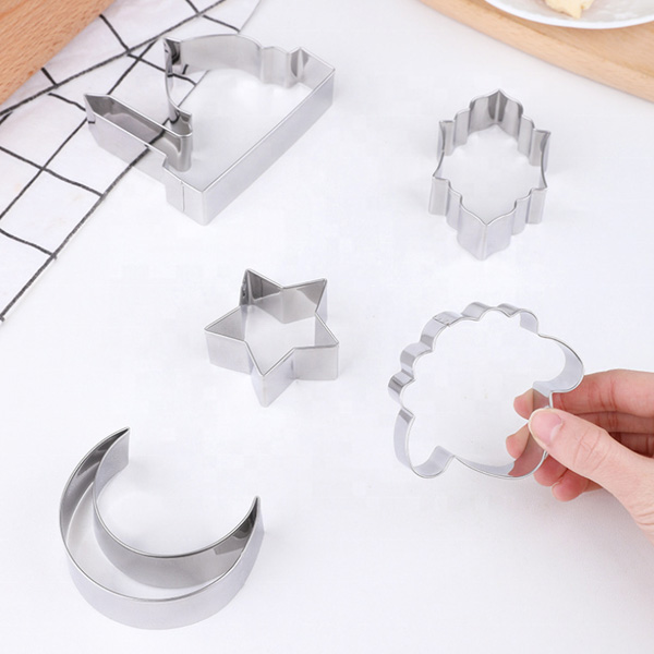 Assorted pack of 6 Islamic Motif Cookie Cutters