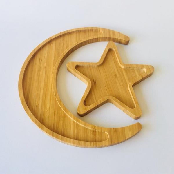 Platter Gift Set - Ramadan Moon & Star Duo