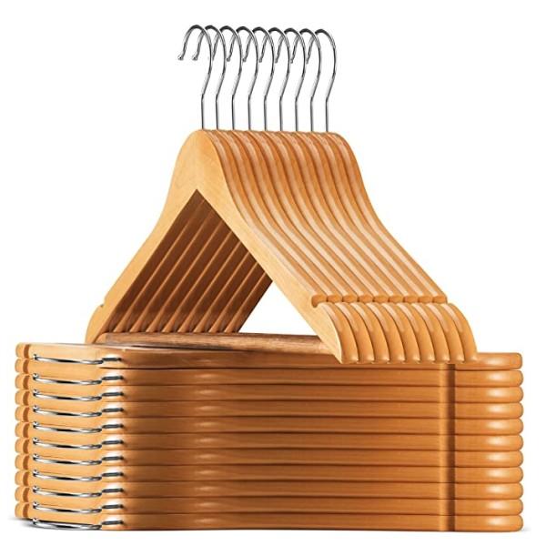 Wooden Hanger (Pack of 50)