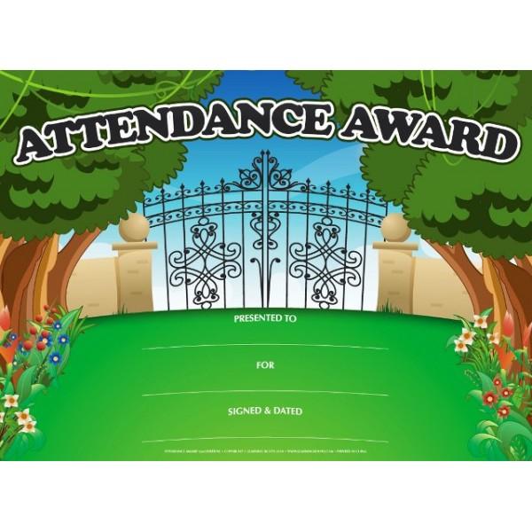 Attendance Award (25 Pack - A4)