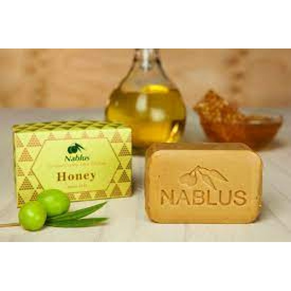 Zaytoun : Olive oil soap - Blossom Honey