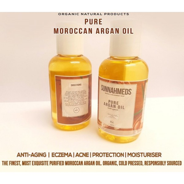 SunnahMeds - Pure Moroccan Argan oil 60ml