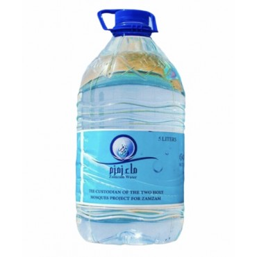 ZamZam Water 5 Liter (Store Pickup Only)